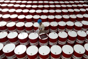 Oil falls from 2-month high as U.S.-China trade doubts dominate