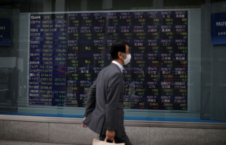 Global stocks going nowhere as virus fears hold optimism in check