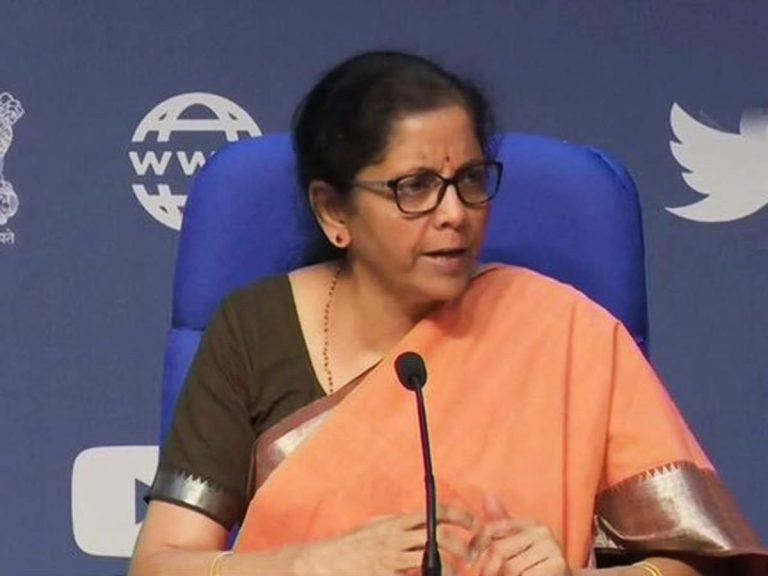 FM Nirmala Sitharamana arrives at Parliament; to present Budget today at 11 am